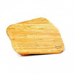 Klarstein 3dílná souprava, bambusové snídaňové desky, 22 x 1,15 x 15 cm (Š x V x H), snadná údržba