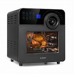 Klarstein AeroVital Cube Chef, horkovzdušná fritéza, 1700 W, 14 litrů, 16 programů, černá