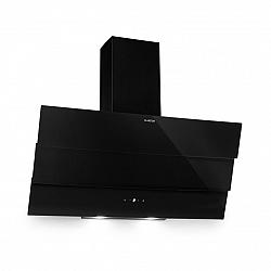 Klarstein Antonia, odsavač par, 90 cm, 350m³/h, dotykový ovládací panel, energetická třída B, černý