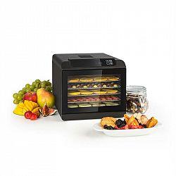 Klarstein Arizona Jerky, sušička ovoce, 500 W, 35 - 70 °C, digitální dotykový displej, černá