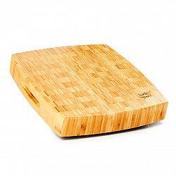Klarstein Bambusové prkénko na sekání, 30 x 6,8 x 30 (Š x V x H), nožičky, rukojeť, snadná údržba