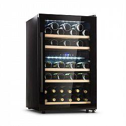 Klarstein Barossa 40D vinotéka, 2 zóny, 135l, 42 lahví, skleněné dveře, dotyková