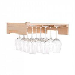 Klarstein Barossa 77D, police na sklenice na víno, příslušenství, pravé dřevo