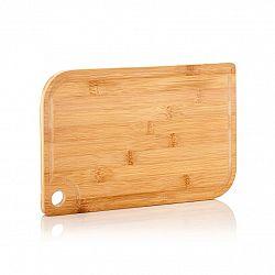 Klarstein Batvik, bambusové prkénko, 33 × 1,5 × 23 cm (Š × V × H), šetrné k nožům, drážka na zachycení šťávy