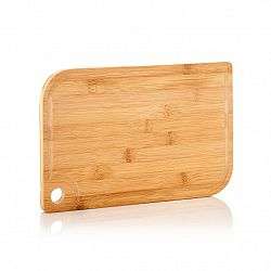 Klarstein Batvik, bambusové prkénko, 40 × 1,5 × 29 cm (Š × V × H), šetrné k nožům, drážka na zachycení šťávy