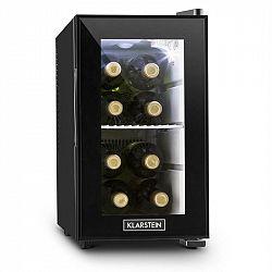 Klarstein Beerlocker S, černá, mini lednička, 21 litrů, třída A +