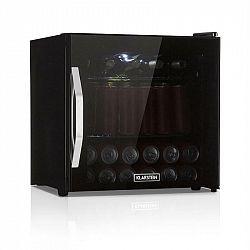 Klarstein Beersafe L Onyx, chladnička na nápoje, A+, LED, kovové rošty, skleněné dveře, černá
