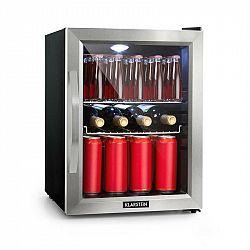 Klarstein Beersafe M, lednice, A++, LED, 2 kovové rošty, sklenené dvere, čierna