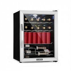 Klarstein Beersafe XL Mix It Edition, chladnička, A++, LED, 4 kovové rošty, skleněné dveře