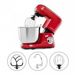 Klarstein Bella Robusta Metal, kuchyňský robot, 1200 W, 6 úrovní výkonu, 5,5 l, červený