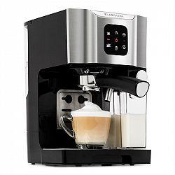 Klarstein BellaVita, kávovar, 1450 W, 20 bar, napěňovač mléka, 3 v 1, šedý