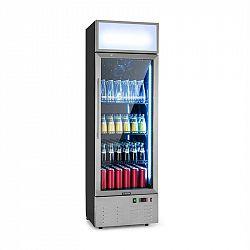 Klarstein Berghain, chladnička na nápoje, 188 l, RGB vnitřní osvětlení, 162 W, ušlechtilá ocel