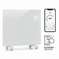 Klarstein Bornholm Single Smart, konvekční ohřívač, 1000 W, ovládání přes aplikaci, bílý