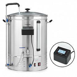 Klarstein Brauheld Pro, sladový kotel, 3300 W, 70 l, 30-100 °C, oběhové čerpadlo, ušlechtilá ocel