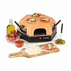 Klarstein Capricciosa, trouba na pečení pizzy, 1500 W, kryt z terakoty, funkce udržování teploty