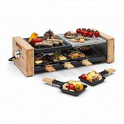 Klarstein Chateaubriand Nuovo Raclette, grilovací deska, 1200 W, hliník/kámen, 8 osob