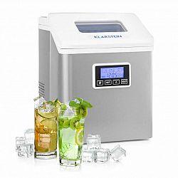 Klarstein Clearcube LCD, výrobník ledu, čirý led, 15-20 kg/24hod, bílý