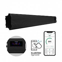 Klarstein Comic Beam Smart 30, infračervený ohřívač, 3000 W, ovládání přes aplikaci, černý