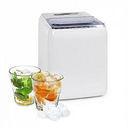 Klarstein Coolio, výrobník ledu, průhledný led, 20kg / 24h, nádržka na vodu: 2,8 l, bílý