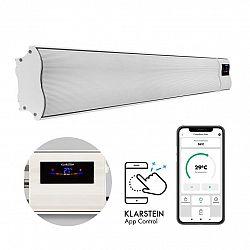 Klarstein Cosmic Beam Smart, infračervený ohřívač, 2400 W, ovládání přes aplikaci, bílý
