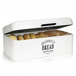 Klarstein Delaware, chlebník, kovový, 42 x 16 x 24,5 cm, výklopné víko, větrací otvory