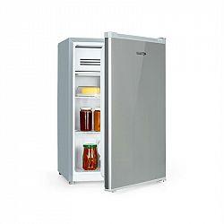 Klarstein Delaware, lednice, A++, 76l, 4 litrová mrazící část, komprese, stříbrno/šedá