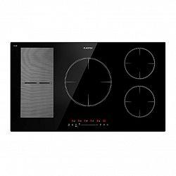 Klarstein Delicatessa 90 Hybrid, vestavěná varná deska, indukce, 5 zón, 7000 W, černá