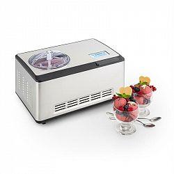 Klarstein Dolce Bacio, zařízení na výrobu zmrzliny, kompresor, 2 l, LCD displej, dotykový panel, ušlechtilá ocel