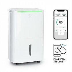 Klarstein DryFy Connect 30, odvlhčovač vzduchu, Wi-Fi, kompresse, 30 l/d, 25–30 m², bílý
