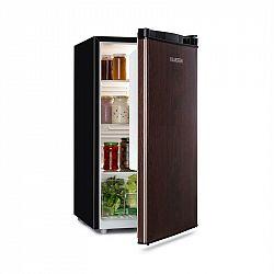 Klarstein Feldberg, lednice, A+, 90l, MirageCool concept, dřevěný design, černá