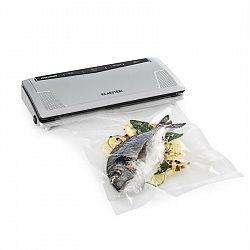 Klarstein FoodLocker Slim vakuovačka 130 W 30 cm dvojitý šev 10 kapes
