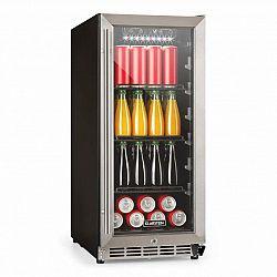 Klarstein FreshAir 90, outdoor lednice, 4 patra, 3 přihrádky, IP24, UV filtr, nerez