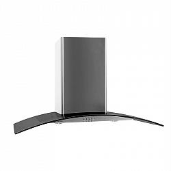 Klarstein GL90WSB komínový odsavač par, 90 cm, 490 m3/h, nerezová ocel