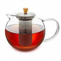 Klarstein Glaswerk Sencha, konvice na čaj, 1,8 l, sítko z ušlechtilé oceli, borosilikátové sklo, víčko