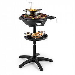 Klarstein Grillpot, 1600 W, 40 cm, elektrický gril, stolní gril, litinový
