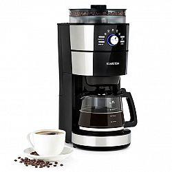 Klarstein Grind & Brew, kávovar, 900-1000 W, 10 šálků, litrová nádrž, mlýnek