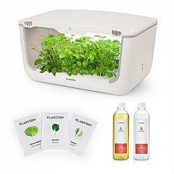 Klarstein GrowIt Farm Starter Kit Salad, 28 rostlin, 48 W, 8 l, semena Salad Seeds, živný roztok