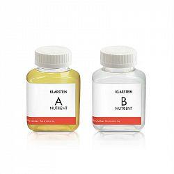 Klarstein GrowIt Nutri Kit 60, živný roztok, příslušenství, 2 x 60 ml