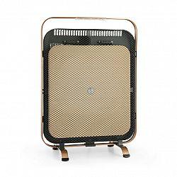 Klarstein HeatPal Marble Blackline, infračervený ohřívač, 1300 W, mramor, hliník