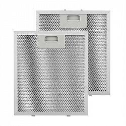 Klarstein hliníkový filtr mastnot 23 x 26 cm, vyměnitelný filtr, náhradní filtr, příslušenství