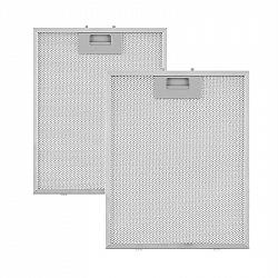 Klarstein hliníkový filtr mastnot 25,8 x 31,8 cm, vyměnitelný filtr, náhradní filtr, příslušenství
