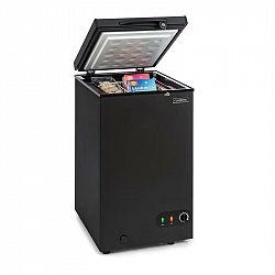 Klarstein Iceblokk 80, mrazicí box, volně stojící, 78litrový koš, uzamykatelný, energetická třída A +, černý