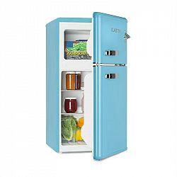 Klarstein Irene, chladnička s mrazničkou, 61 l chladnička, 24 l mrazák, modrá