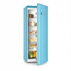 Klarstein Irene XL, chladnička, 242 l, retro design, 4 poličky, A+, modrá