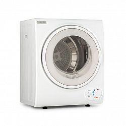 Klarstein Jet Set 2500, sušička prádla, sušička s odsáváním vlhkého vzduchu, 850 W, TEE C, 2,5 kg, 50 cm, bílá