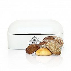 Klarstein Kovový chlebník s dřevěnou rukojetí, plech, uchovává aroma, retro vzhled