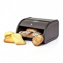 Klarstein Kovový chlebník s knoflíkovou rukojetí, plech, uchovává aroma, retro vzhled