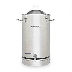 Klarstein Maischfest, fermentační kotel, 25 litrů, kvasná trubka, nerezová ocel 304