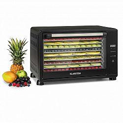 Klarstein Mega Jerky, sušička potravin, 650 W, 50-80 °C, dotykový LCD displej, časovač
