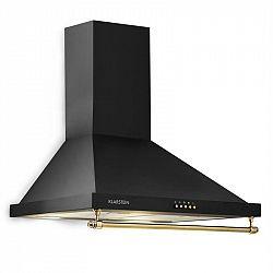 Klarstein Montblanc, odsavač par, 610 m³ / h, 165W, 2x1,5W LED, závěsná tyč, černý
